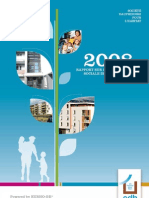 Rapport RSE 2008 - Société Dauphinoise pour l'Habitat
