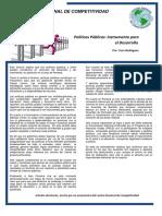 Politicas Publicas Instrumento para el Desarrollo
