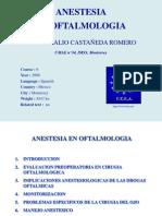Anestesia en Oftalmo