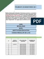 Instrumento de Monitoreo -Juan Carlos Ramos