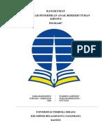 PDGK 4407 Pengantar Pendidikan Anak Berkebutuhan Khusus Modul 1 (Hakikat Pendidikan Khusus)