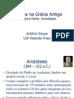 Fisica na Grecia antiga - Aristoteles