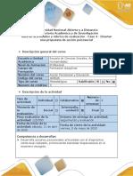 Guía de actividades y rúbrica de evaluación -Fase 4 - Diseñar una propuesta de acción psicosocial