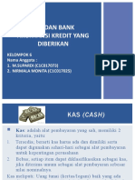 KAS DAN BANK AKUNTANSI KREDIT YANG DIBERIKAN-1