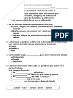 EXAMEN DE ETICA  PRIMER 4 y 5