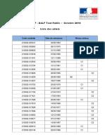 Liste admis delf -dalf octobre 2019