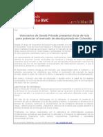 Visionarios de Deuda Privada presentan hoja de ruta.pdf