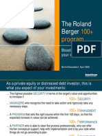 RB the Roland Berger 100 Program 20050401