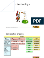 2.Comp. of Paints,paint tech,shoppr,paint compare to a house