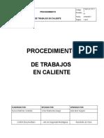 P.SG.S.A.17.P.12 Procedimiento de Trabajos en Caliente