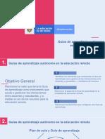 PPT Guías de aprendizaje autonomo