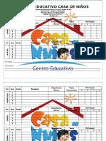 CENTRO EDUCATIVO CASA DE NIÑOevento de clase primaria