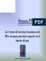Usaid Proyecto Pra