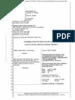 Belfort v Red Granite Motion to Compel