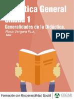 Unidad 1_Generalidades de la Didáctica