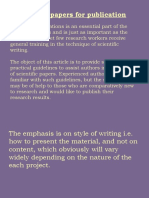 Writing Papers for Publication 3 (2)