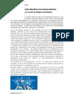 Institución educativa en nuevos escenarios Alejandra Goró 3°B