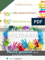 1. Marco General Economia solidaría