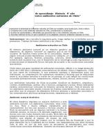 6 año  -  Historia  -  Guía  -  Ambientes Naturales en Chile