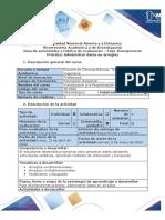Guía de actividades y Rubrica de evaluación - Fase 4 Componente práctico Administrar datos en arreglos.pdf