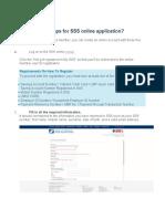 SSS online application