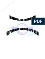 Manual de Usuario ANDISOFT V3.0