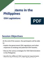 BOSH _OSH Legislation 2016