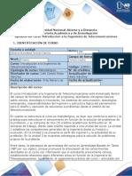 Syllabus del curso introducción a la ingeniería de telecomunicaciones