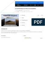Cómo instalar macOS Mojave en Macs no compatibles - Guía de reparación iFixit