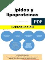 Lípidos y lipoproteínas
