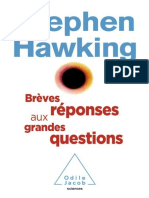 Stephen Hawking Breves reponses aux grandes questions- Jericho