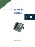 Netfon 100 User Guide