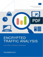 ENISA Report - Encrypted Traffic Analysis
