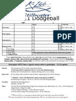 Dodgeball Team Registration 2011