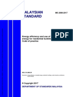 MS2680-2017 Energy efficiency and use of renewable energy for residential buildings