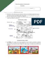 guia lenguaje el comic 5º