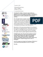Byrd Committee Coalition Letter