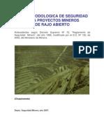 Guia a Seguridad Proyectos Minero Rajo Abierto