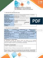 Guía de actividades y rúbrica de evaluación - Fase 5 - Transferir los conocimientos aprendidos a la situación planteada (3)
