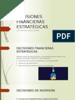 DECISIONES DE FINANCIACION