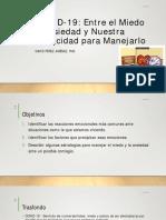 COVID-19 Dr. David Perez Jimenez