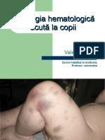 V.Turea.Patologia hematologica acuta