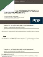 les conflits culturels