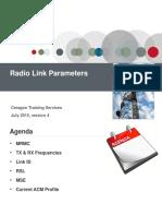 5 IP-20G Radio Link Parameters
