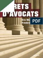 EBOOK  Frederic Ploquin - Secrets d avocats.pdf