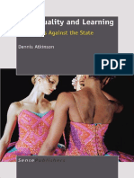 Dennis Atkinson - Art, Equality and Learning_ Pedagogies Against the State-Sense Publishers (2011).pdf
