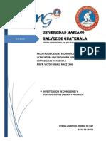 BYRON OSORIO - INVESTIGACION DE COMISIONES Y CONSIGNACIONES Y EJEMPLO PRACTICO