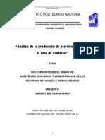 Análisis de la producción de petróleo en México el caso de Cantarell