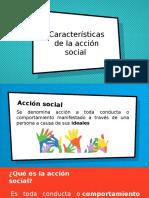2. Caracteristicas de la acción social e individual
