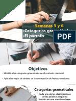 Presentación_Semanas 5 y 6_Español_© Lic. Epifanía Salgado
